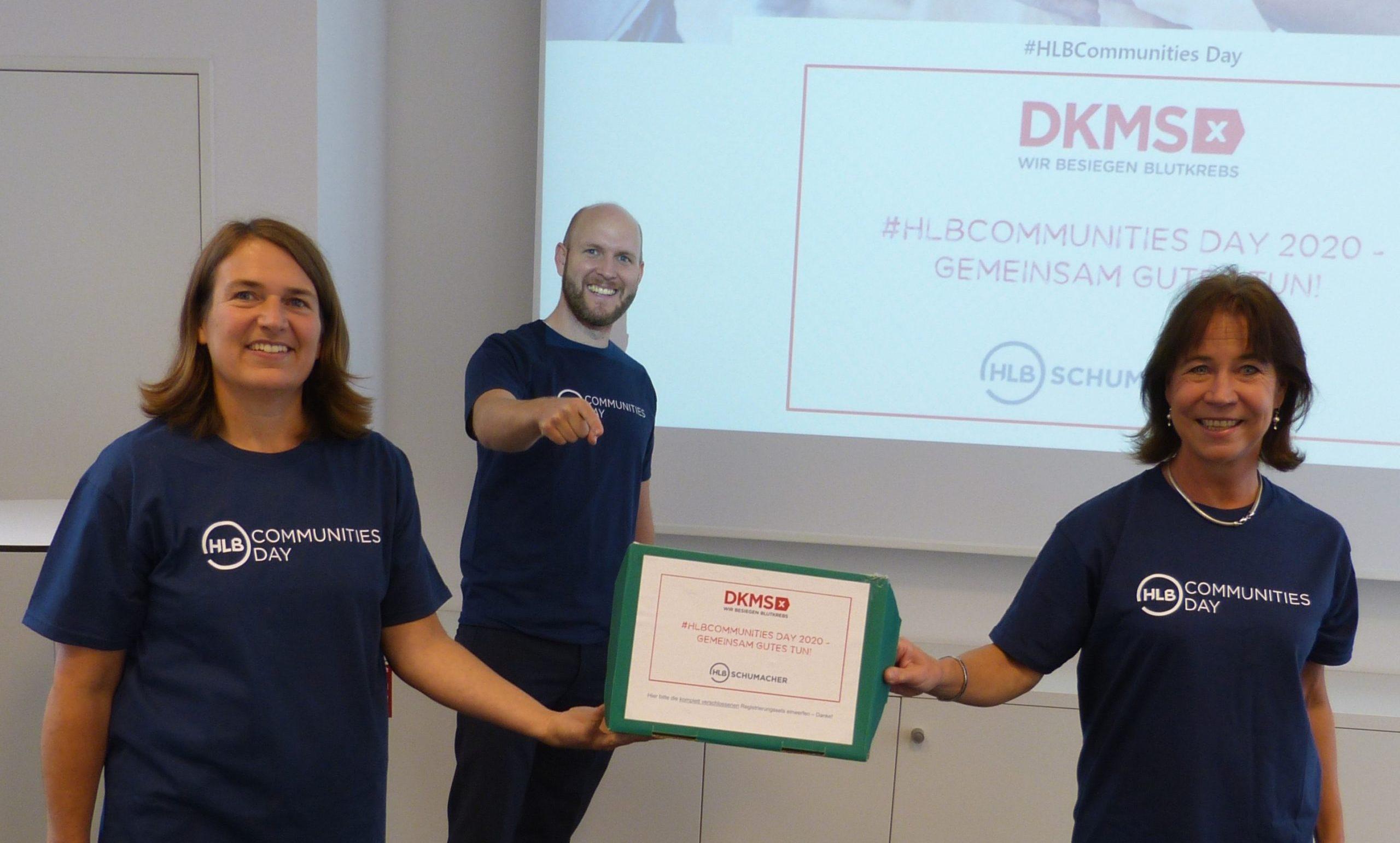 DKMS HLB Communities Day Gemeinnütziges Projekt