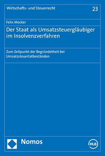 NOMOS Schriftenreihe HLB Wirtschaftsrecht Steuerrecht