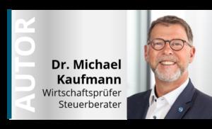 Veröffentlichung Dr. Michael Kaufmann HLB Schumacher